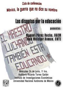Conferencia sobre la educación en México